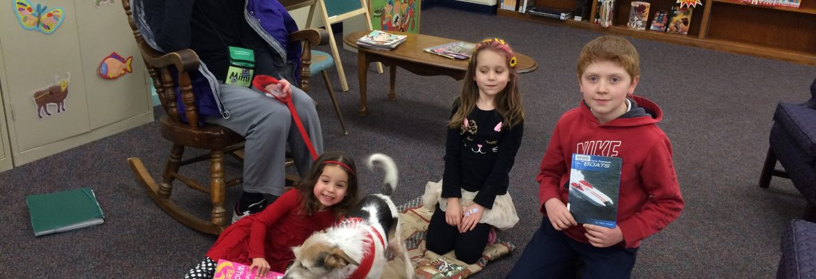 Tail Waggin' Storytime – For Children K-5